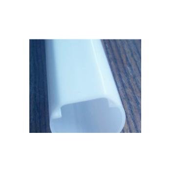 供应led环保塑胶双色共挤PC管,T10双色PC管/塑胶防水灯罩
