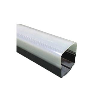 厂家定制户外防水LED数码管外壳pc灯罩 批发加工塑料纳米磨砂pc管