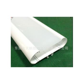 厂家定制加工三防灯PC防水外壳配件 批发led户外照明灯具塑料pc管