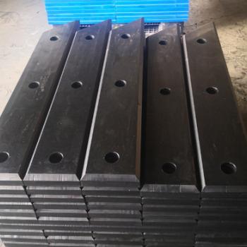 供应超高分子防撞板 高耐磨upe滑板 高分子聚乙烯异形件图纸制作