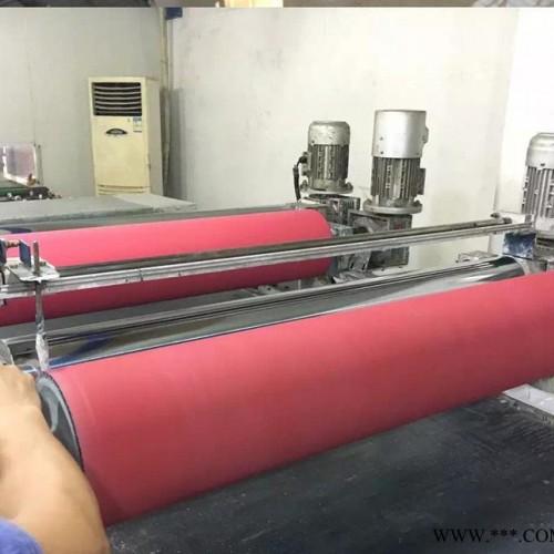 耐高温聚氨酯胶辊加工 展平弯辊 吹膜机展平辊 橡胶弧形弯辊 定做