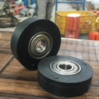 聚氨酯制品 铁芯胶辊包胶加工 弹性橡胶辊 硅胶异形件胶轮