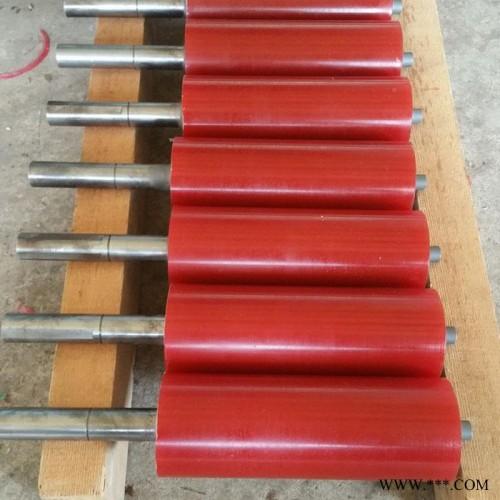 印刷胶辊 过线辊  胶辊 天然橡胶辊 聚氨酯包胶轮 PU轮 耐磨胶辊