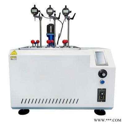 广测 橡胶管热变形软化试验机 塑料热变形温度 塑料软化点测试