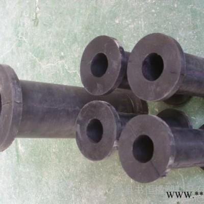 供应钰程100胶管阀胶管 280毫米长管夹阀专用挤压橡胶管
