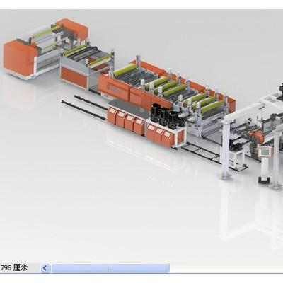 供应定制塑料板材生产线设备