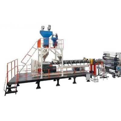上海金纬机械JW170-2600塑料板材设备 企业生产PP、PE、PVDF厚板挤出生产线
