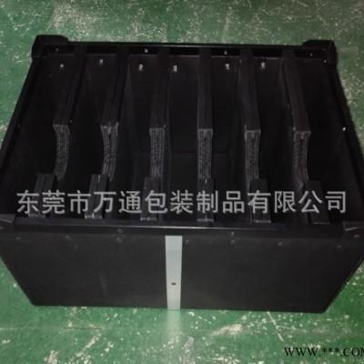 专业定制PP塑料中空板周转箱 塑料板骨架箱 防静电中空板箱