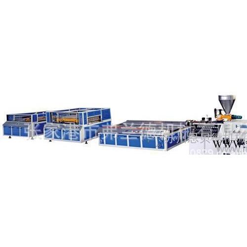 PVC塑料板材生产线,PVC板材生产线设备