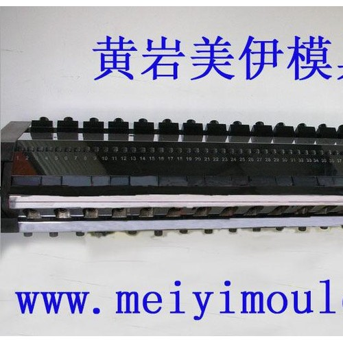pc耐力板阻隔板模头,黄岩厚板挤出平模头,浙江台州塑料板材模具