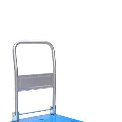 厂家供应注塑150KG塑料板车 物流搬运设备150KG塑料平板车