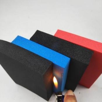 b1级阻燃隔热橡塑板 空调管道橡塑保温板 铝箔贴面橡塑板