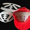 厂家批发各种异形纸板帽托,成人小孩棒球平顶礼帽帽撑卡纸帽子