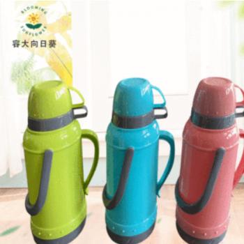 热水壶pp外壳礼品学生保温瓶 厂家供应塑壳保温瓶2L