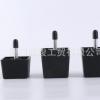 厂家供应塑料小方脚 塑料沙发脚 方形家具脚柜脚家具配件可定制