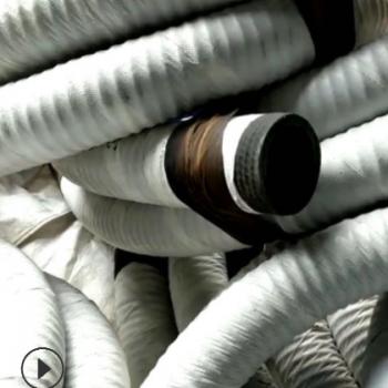 水泥厂电厂用卸灰管喷煤管 水泵橡胶钢丝胶管 煤矿用吸排水胶管