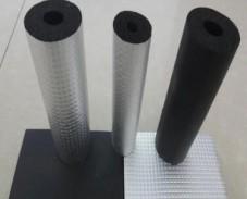 B1级橡塑保温管 防火隔热铝箔橡塑保温管