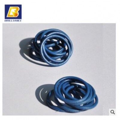 厂家直供导电橡胶密封圈 铝镀银导电橡胶/蓝色橡胶O型圈