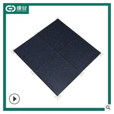 健身房力量区域隔音橡胶地垫缓冲杠哑铃垫子 彩色运动塑胶地板