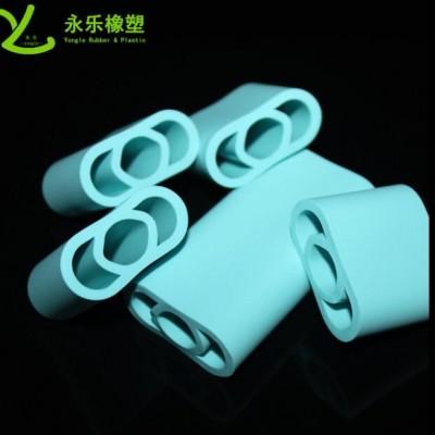 灯台硅胶套管 电子仪器连接保护硅胶管 食品级铂金孔位均匀光滑