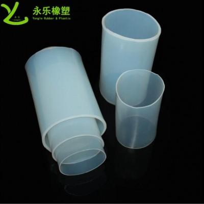 大口径薄壁硅胶管 食品级透明硅胶连接管 耐高温耐压铂金硅胶管