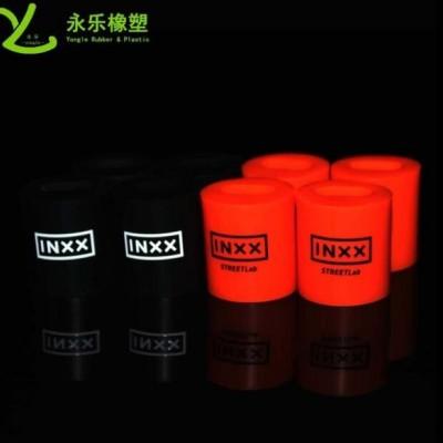 印字硅胶套管 食品级环保丝印LOGO硅胶管 厂家可定制形状长度字体