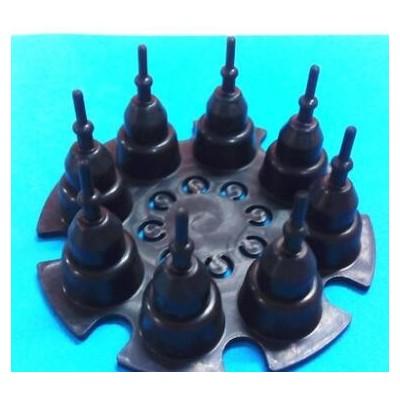 厂家供应水泵气泵泵阀 八孔活塞密封件,橡胶皮碗
