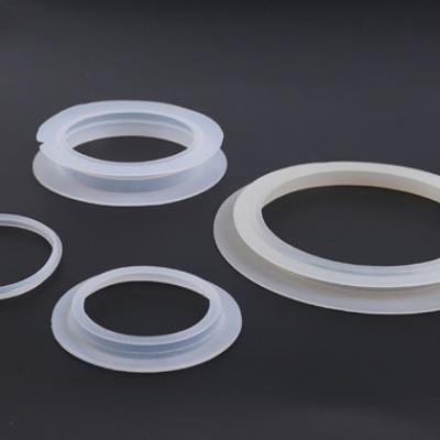 橡胶制品白色硅胶橡胶垫圈 大中小塞子中号半包底 硅胶圈