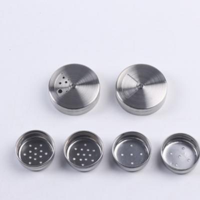 不锈钢铁盖 48#双层盖子用于不锈钢研磨器 密封盖 可定制