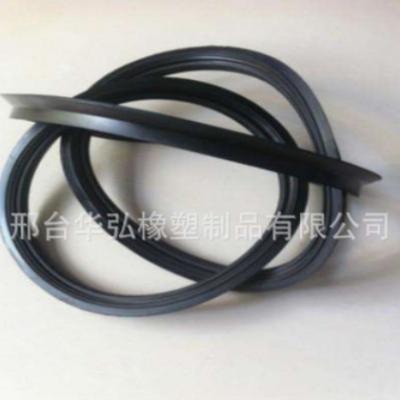 厂家定做HDPE排水管密封胶圈 PVC胶圈 中空壁缠绕管胶圈 市政建设