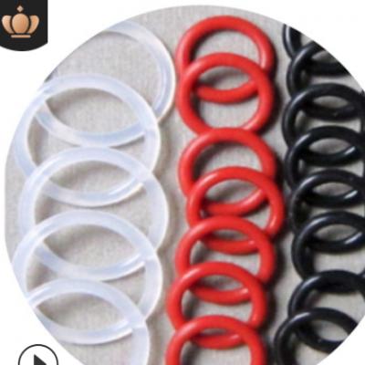 o型圈 硅胶o型密封圈 食品级o型硅胶圈 白红黑透明防水硅胶密封圈