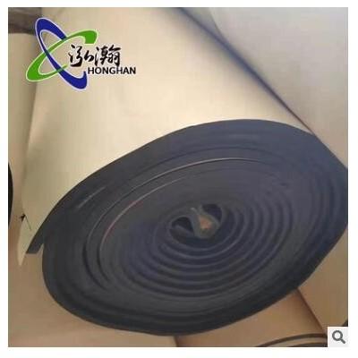 铝箔复合橡塑板 B1级黑色阻燃橡塑板 空调管道橡塑板 橡塑海绵板