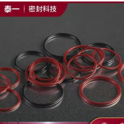 包四氟O型圈 FEP/PFA 耐腐蚀耐高温包覆O型圈 氟橡胶 硅胶