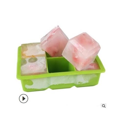 硅胶6格6孔冰球冰格套装冰球模具硅胶圆形方冰格模具硅胶6孔冰球