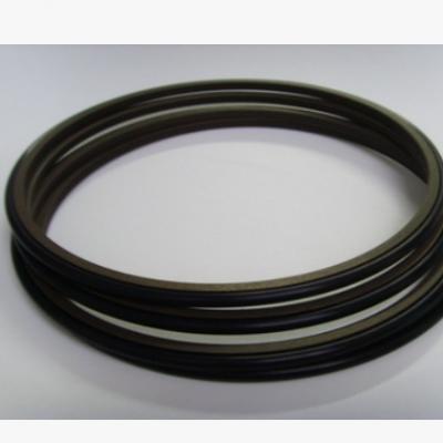 进口四氟PTFE耐腐蚀高温耐磨油缸活塞轴用孔用斯特封泛塞封格莱圈