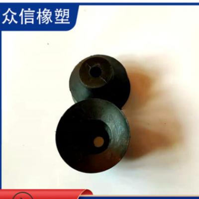 黑色圆形吸盘 丁晴橡胶工业吸盘 橡胶吸盘 工业橡胶吸盘
