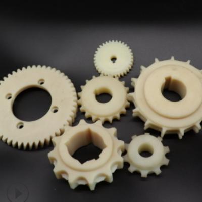 各种型号尼龙齿轮 工业注塑件 机械设备用塑料件 外齿轮