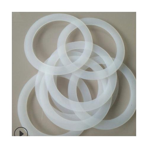 厂家供应硅胶密封圈石油化工用硅胶橡胶圈白色塑料硅胶固定密封圈