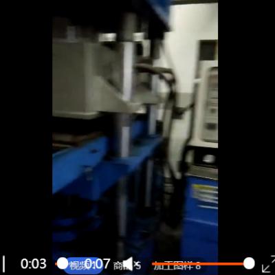圆形黑色橡胶减震垫纺织行业橡胶制品定制石油工业橡胶弹簧减震垫