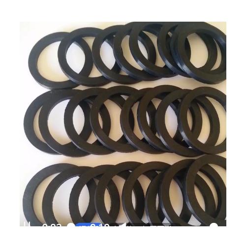 黑色圆形橡胶脚垫加工定制橡胶垫片水管阀门固定密封橡胶密封垫片