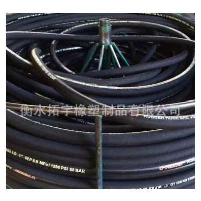 厂家批发液化气低压胶管耐压带钢丝编织燃气液化气钢丝橡胶管定制