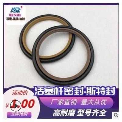 聚四氟 斯特封 活塞杆专用密封 耐磨耐高压耐高温
