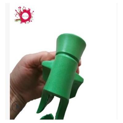 厂家供应滤清器PU胶滤清器注塑桔红色PU胶