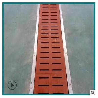 高分子聚乙烯地沟盖板 缝隙式线性排水沟 高分子聚乙烯地沟盖板