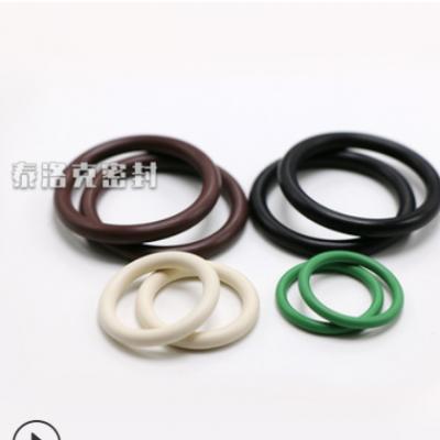工厂直销 氟胶硅胶丁腈 橡胶o型圈 O型密封件 耐高低温 海量现货