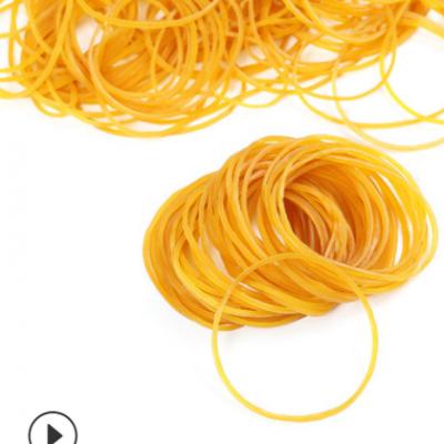 包邮50*1.4黄色义乌厂家直销越南原装橡皮筋胶圈橡皮圈牛皮筋环保