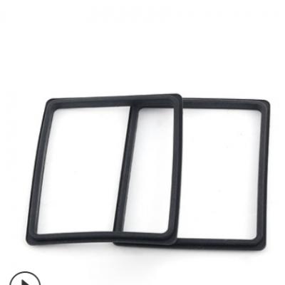 防水硅橡胶密封圈 黑色丁腈方形密封圈 防臭密封胶圈硅胶制品厂家