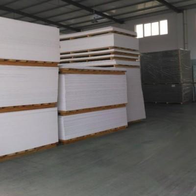 厂家5mm高密度白色pvc共挤发泡板0.55密度 高硬度 黑色