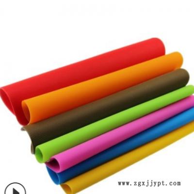跨境贸易多种厚度卷材胶垫高温减震模切冲压卷材密封垫彩色硅桌布