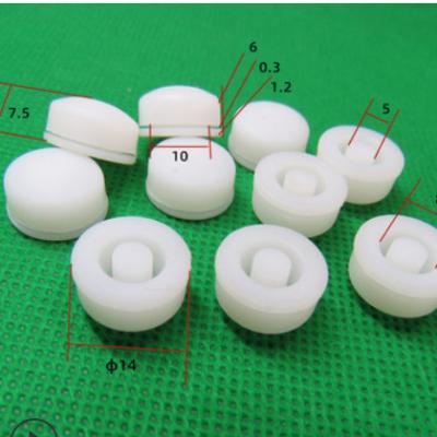硅胶按键 姝馨led灯电源键 工业用橡胶制品功能硅胶开关按钮现货